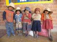 Children of Posta, Bolivia