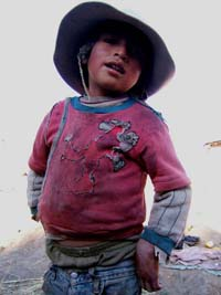 Child from Buena Vista, Bolivia